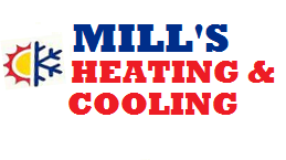 Mill's Heating & Cooling Logo